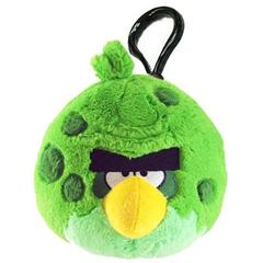 Chaveiro de Pelucia Angry Birds Space - Terence Verde - Toyng