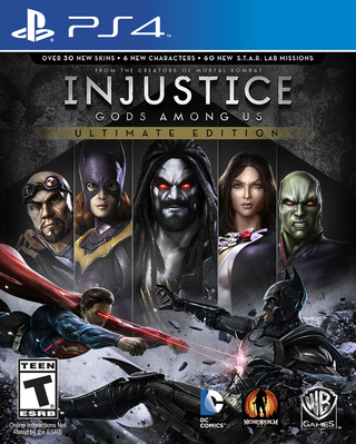 Injustice: Gods Among Us Ultimate Edition - PS4 | Via PSN