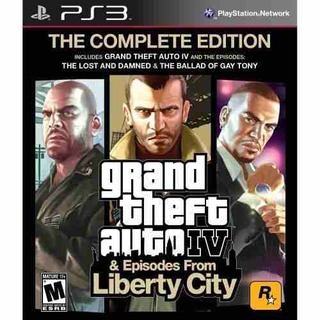 Grand Theft Auto IV Complete Edition - PS3 ( GTA 4 ) | Via PSN